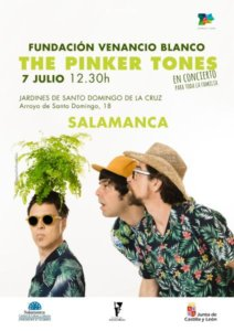 Sala de Exposiciones Santo Domingo de la Cruz The Pinker Tones Plazas y Patios Salamanca Julio 2018