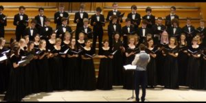 Catedral Vieja Berkshire Youth Choir & Berkshire Youth Guitar Orchestra Julio 2018.