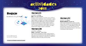 Bogajo Noches de Cultura Julio 2018