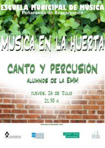 Peñaranda de Bracamonte Escuela Municipal de Música Julio 2018