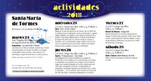 Santa Marta de Tormes Noches de Cultura Julio 2018