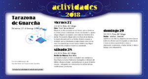 Tarazona de Guareña Noches de Cultura Julio 2018