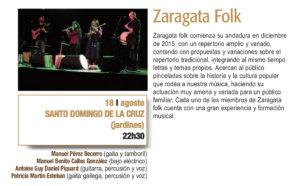Sala de Exposiciones Santo Domingo de la Cruz Zaragata Folk Plazas y Patios Salamanca Agosto 2018