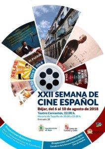 Teatro Cervantes XXII Semana de Cine Español Béjar Agosto 2018