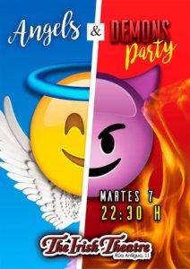 The Irish Theatre Angels & Demons Party Salamanca Agosto 2018