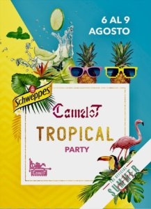Camelot Tropical Party Salamanca Agosto 2018