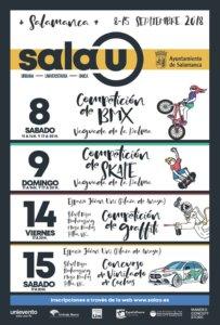 Ferias y Fiestas 2018 Festival de Cultura Urbana Salamanca Septiembre