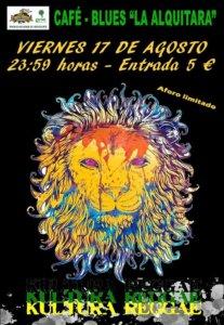 La Alquítara Kultura Reggae Band Béjar Agosto 2018