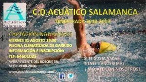 Salamanca Captación de Nadadores CD Acuático Salamanca Septiembre 2018