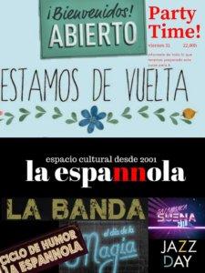 La Espannola Party Time! Salamanca Agosto 2018