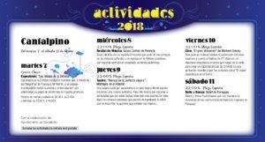 Cantalpino Noches de Cultura Agosto 2018
