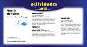 Martín de Yeltes Noches de Cultura Agosto 2018