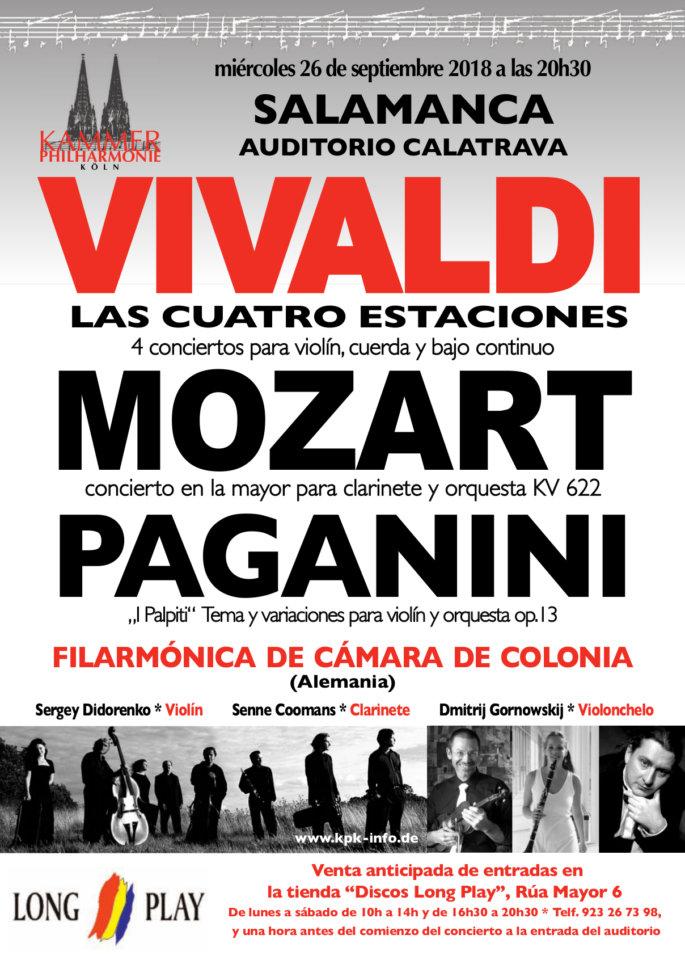 Auditorio Calatrava Orquesta Filharmónica de Cámara de Colonia Salamanca Septiembre 2018