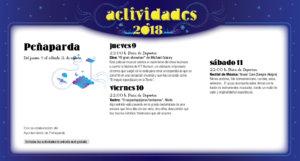 Peñaparda Noches de Cultura Agosto 2018