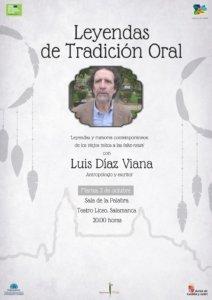 Teatro Liceo Luis Díaz Viana Ciclo Leyendas de tradición oral Salamanca Octubre 2018