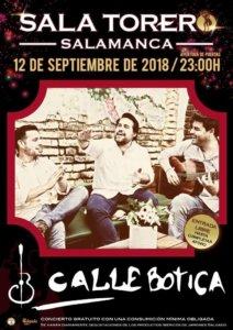 Sala Torero Calle Botica Salamanca Septiembre 2018