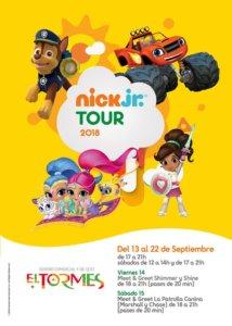 Ferias y Fiestas 2018 Nickelodeon Jr. Tour Centro Comercial El Tormes Septiembre