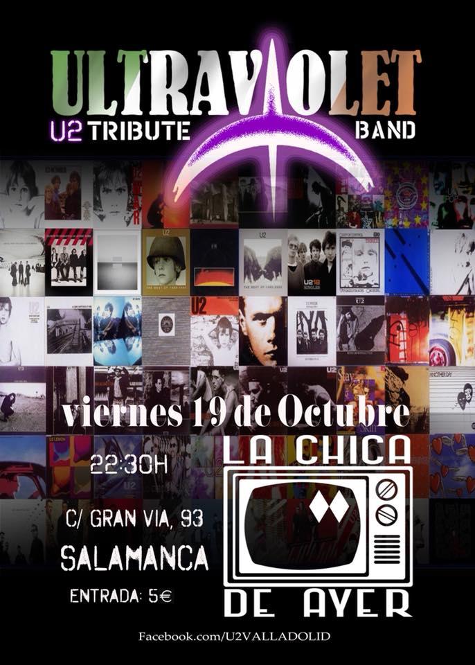 La Chica de Ayer Ultraviolet Salamanca Octubre 2018