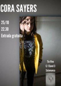 Tío Vivo Cora Sayers Salamanca Octubre 2018