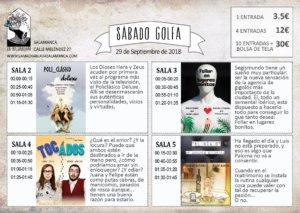 La Malhablada I Festival de Microteatro 29 de septiembre de 2018 Sesión Golfa Salamanca
