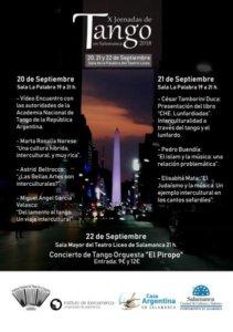 Teatro Liceo X Jornadas de Tango Salamanca Septiembre 2018