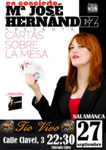 Tío Vivo María José Hernández Salamanca Septiembre 2018