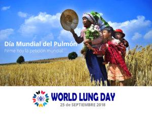 Puerta de Zamora Día Mundial del Pulmón Salamanca Septiembre 2018