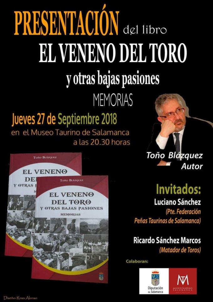 Museo Taurino El veneno del toro y otras bajas pasiones Salamanca Septiembre 2018