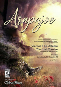The Irish Theatre Arapajoe Salamanca Octubre 2018