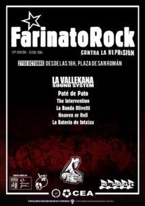 Plaza de San Román XXIV Festival Farinato Rock CEA CES Salamanca Octubre 2018