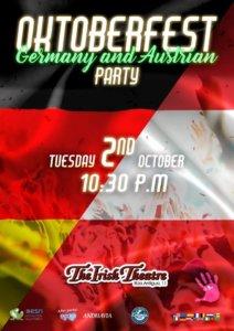 The Irish Theatre Oktoberfest Germany & Austrian Party Salamanca Octubre 2018