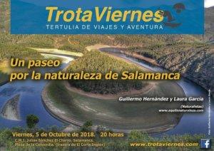 Julián Sánchez El Charro Trotaviernes Un paseo por la naturaleza de Salamanca Octubre 2018