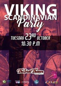 The Irish Theatre Viking Scandinavian Party Salamanca Octubre 2018