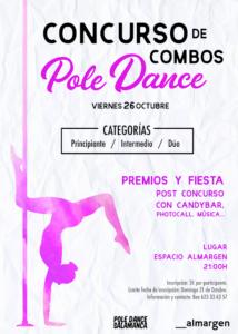 Espacio Almargen Concurso de Pole Dance Salamanca Octubre 2018