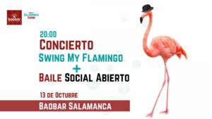Baobar Swing my Flamingo Salamanca Octubre 2018