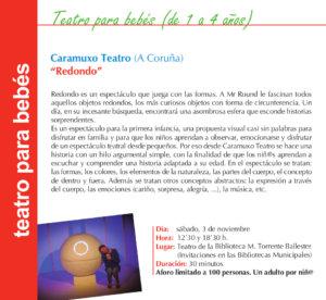 Torrente Ballester Caramuxo Teatro Salamanca Noviembre 2018