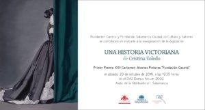 Domus Artium 2002 DA2 Cristina Toledo Una historia victoriana Salamanca 2018-2019