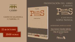 Casino de Salamanca Pequeñas Personas Peculiares Octubre 2018