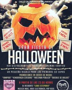Super 8 Halloween Salamanca 2018