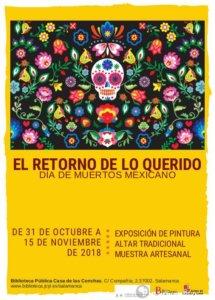 Casa de las Conchas El retorno de lo querido Salamanca Octubre noviembre 2018