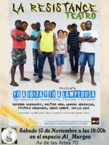 Espacio Almargen Yo a Ibiza y tú a Lampedusa Salamanca Noviembre 2018