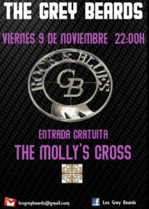 The Molly's Cross The Grey Beards Salamanca Noviembre 2018