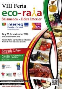 Recinto Ferial Provincial VIII Feria Ecoraya Salamanca - Beira Interior Noviembre 2018.