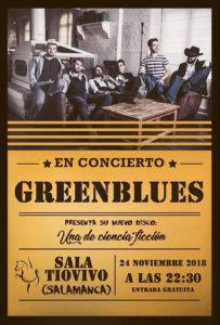 Sala Torero Greenblues Salamanca Noviembre 2018