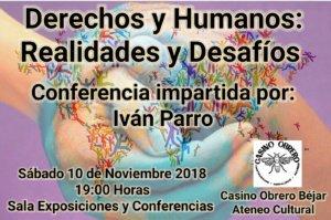 Casino Obrero Iván Parro Béjar Noviembre 2018