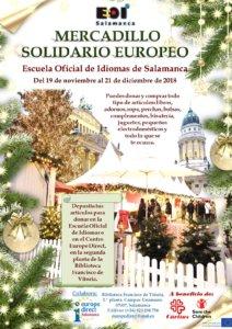 Escuela Oficial de Idiomas Mercadillo Solidario Europeo 2018