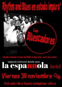 La Espannola Los Bluescadores Salamanca Noviembre 2018