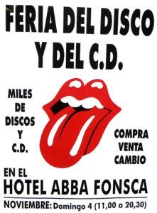 Abba Fonseca Feria del Disco y del CD Salamanca Noviembre 2018