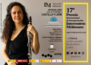 Teatro Liceo XVII Certamen Nacional de Interpretación Intercentros Melómano Salamanca Noviembre 2018