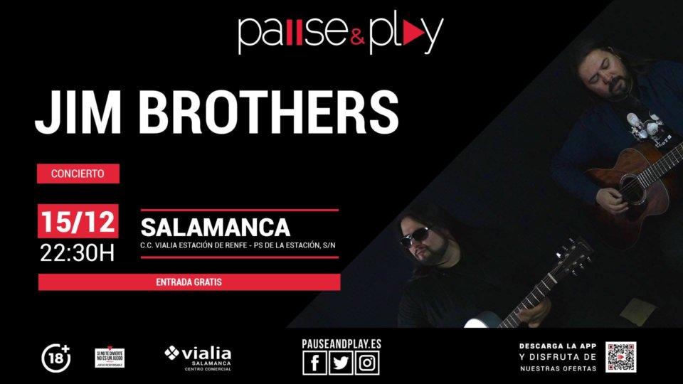 Centro Comercial Vialia Jim Brothers Salamanca Diciembre 2018